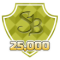 Earned 25000 SuperPoints