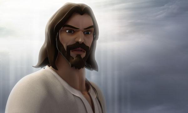 Jesus Looks On