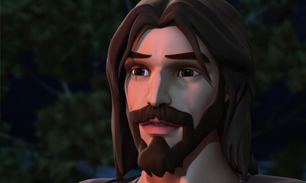 He Is Risen - Jesus in Gethsemane