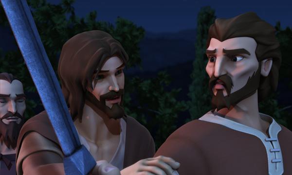 He Is Risen - Jesus Calms Peter