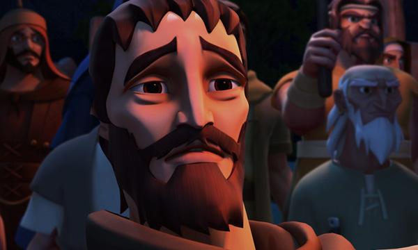 He Is Risen - Judas in Gethsemane