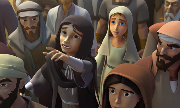 He Is Risen - Mary Anguishes