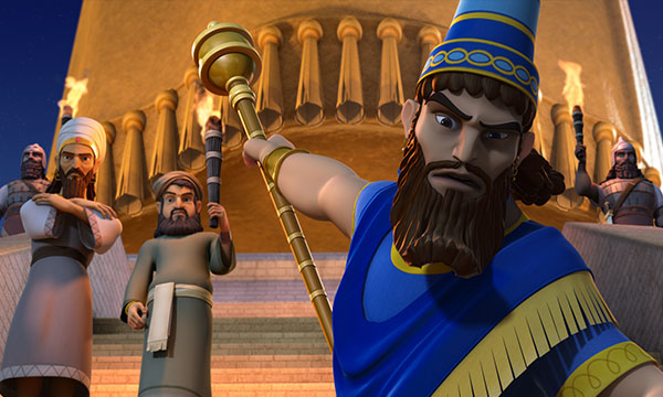 Nebuchadnezzar Rages