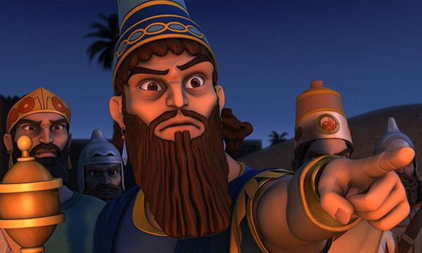 Nebuchadnezzar Points to the Fourth Man