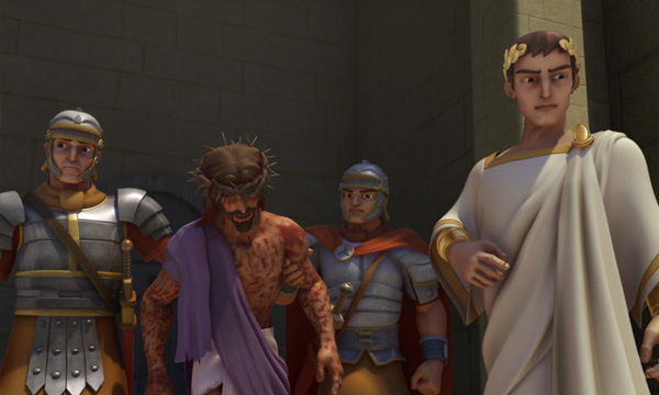 He Is Risen - Pilate Presents Jesus
