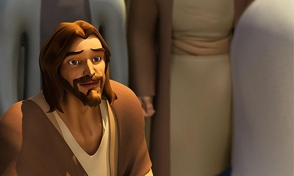Isus ascultă