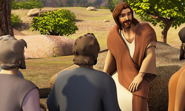 Jesus Tells Parable