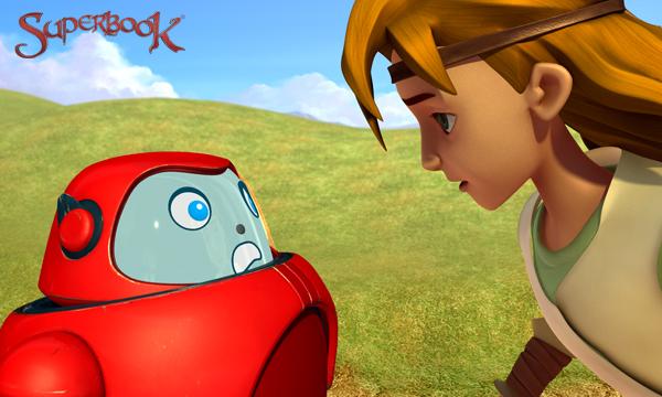 A Giant Adventure - David Checks Out Gizmo's Armor