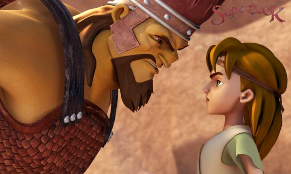 A Giant Adventure - David Versus Goliath