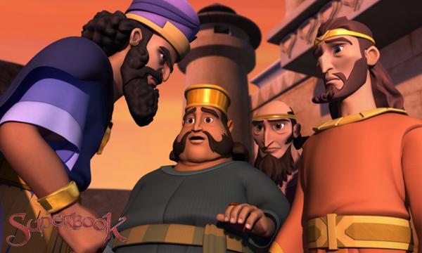 เสียงคำราม!-กษัตริย์ Darius พร้อมปรึกษา