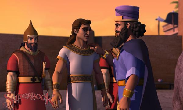 เสียงคำราม!-กษัตริย์ Darius และแดเนียลนอกการเดน