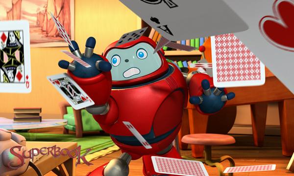 Superbook-Gizmo的撲克戲法