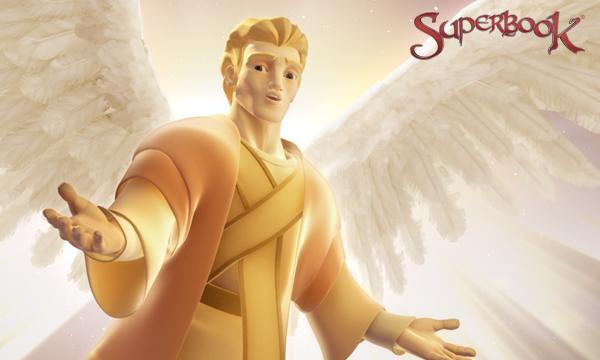 Îngerul Gavril vorbește cu păstorii