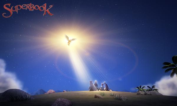 Îngerul Gavril și păstorii