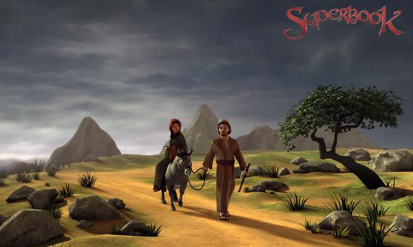 Iosif și Maria călătoresc