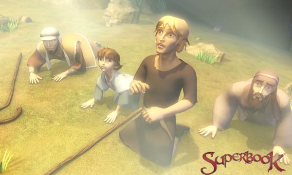 Păstorii speriați de îngerul Gavril