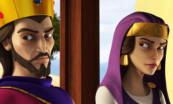Irodiada îl privește pe Irod