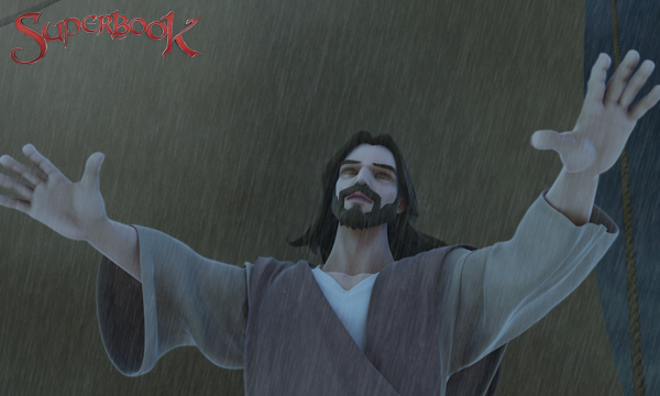 Isus potolește furtuna