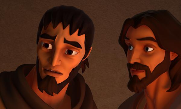 The Last Supper - Judas and Jesus