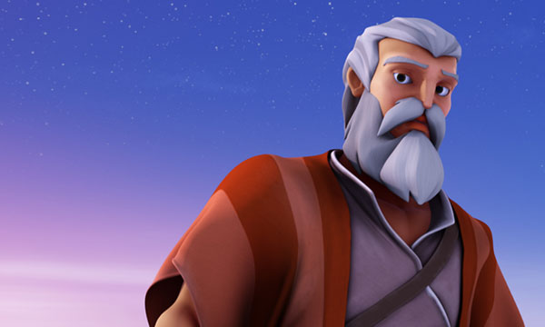 Moses - Shepherding in the Twilight