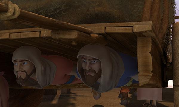 Spies Sneak In