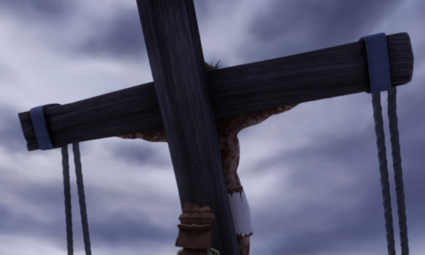 He Is Risen - Raising the Cross