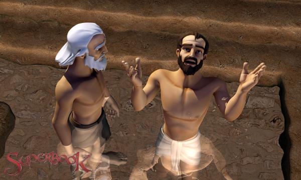 The Road to Damascus - Ananias Baptizes Saul