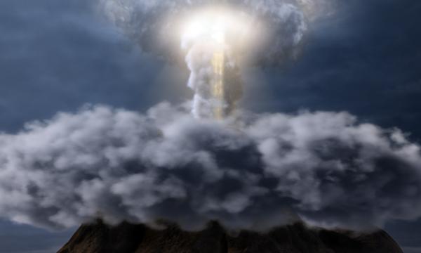 God on Mt. Sinai
