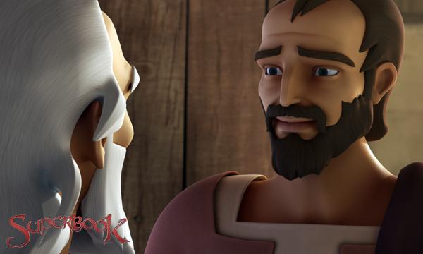 The Road to Damascus - Saul Thanks Ananias