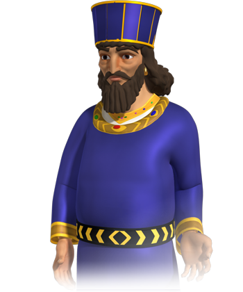 King Ahasuerus