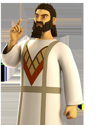 Împăratul Nebucadnețar (tânăr)