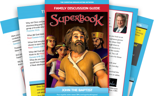 John the Baptist - Family Discussion Guide