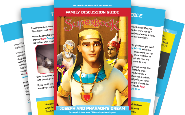 Joseph and Pharaoh's Dream - Family Discussion Guide
