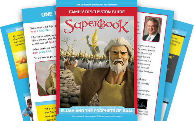 Elijah and the Prophets of Baal - Family Discussion Guide