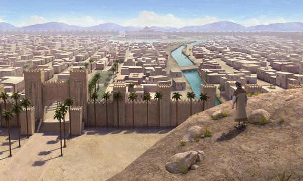 Jonah Looks Over Nineveh