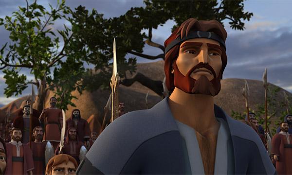 Esau Sees Jacob