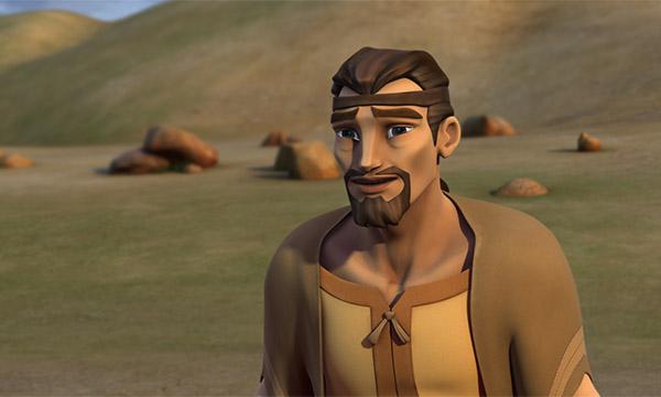 Jacob Sees Esau
