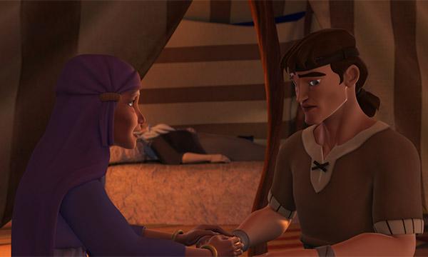 Rebekah Encourages Jacob