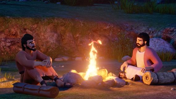 Disciples Discuss the Sermon on the Mount
