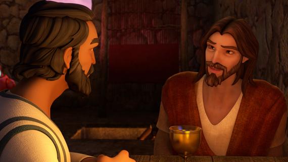 Jesus Speaks With Nicodemus