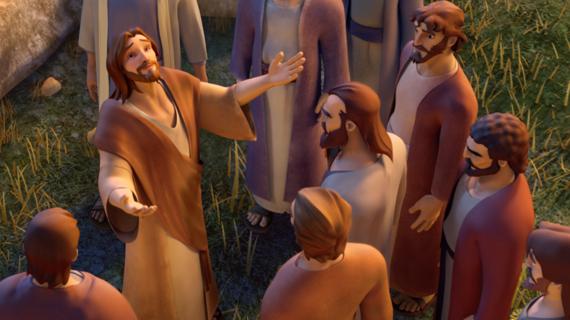 Jesus Teaches How To Pray