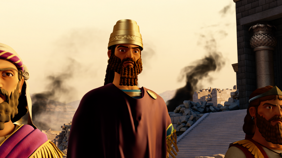 Nebuchadnezzar Captures Jerusalem