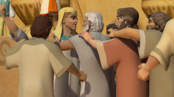Joseph Reconciles with His Brothers