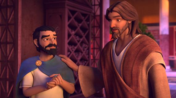 Zacchaeus is Saved